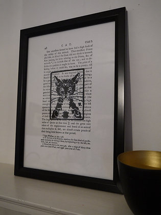 Important Cat print