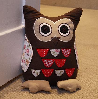 Folk Owl Doorstop