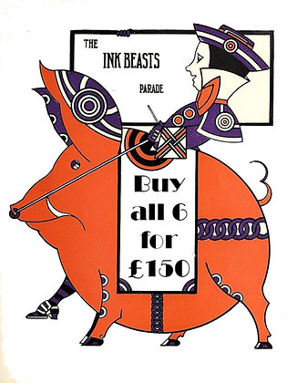 Ink Beasts Parade: 6 for £150