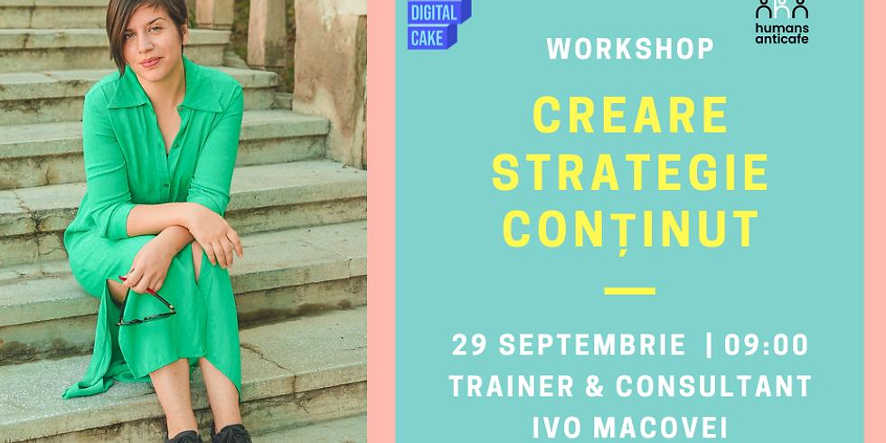 """""""Creare Strategie Conținut"""""""