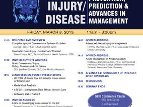GTRI Technical Series Presents: BRAIN INJURY/ DISEASE