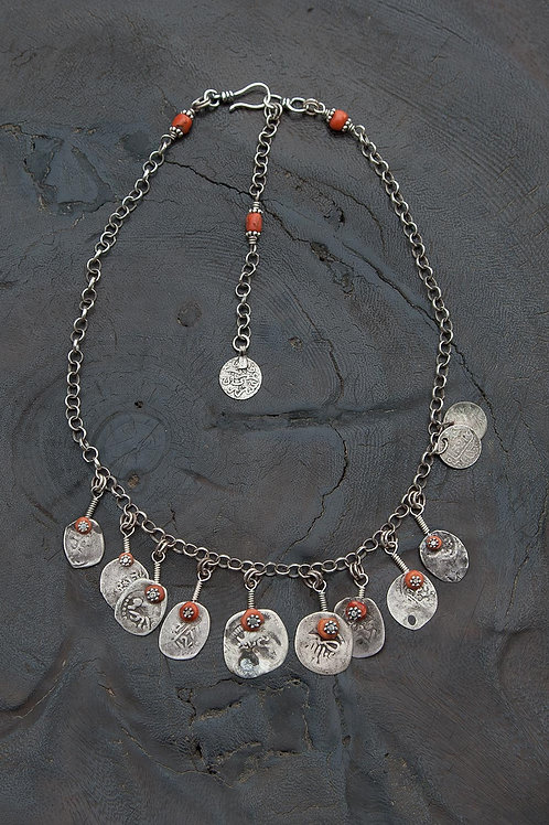 Gypset Style Coin Necklace