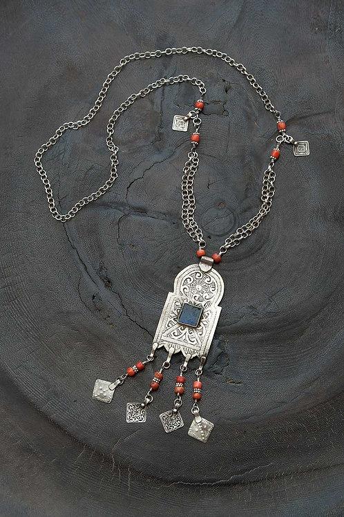Moroccan Tanit Goddess Pendant
