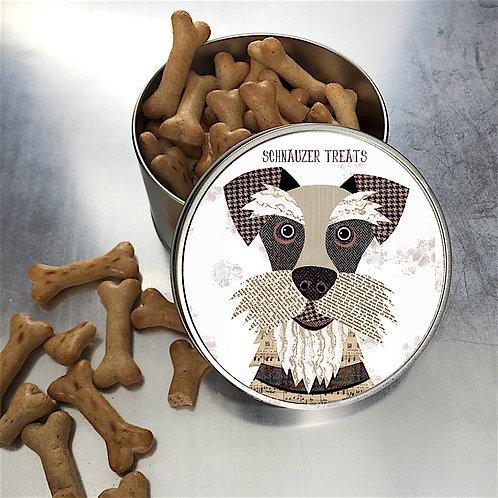 Schnauzer Dog Tin