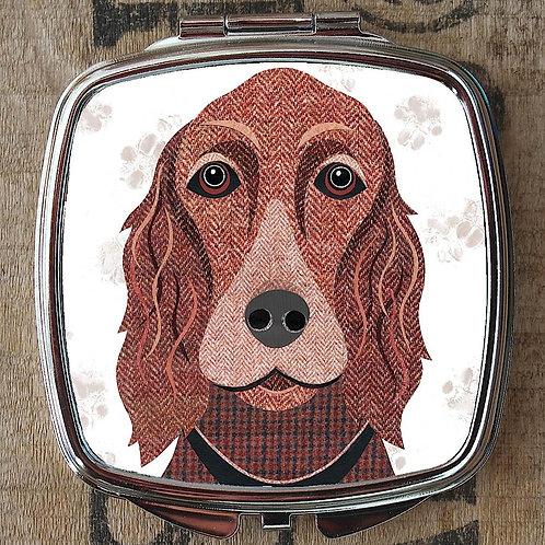 Irish Setter Dog Compact Mirror