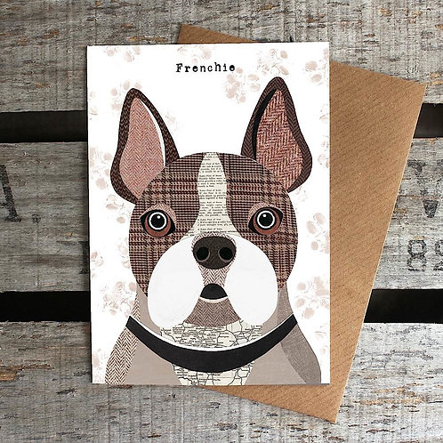 PAW53 Frenchie Card