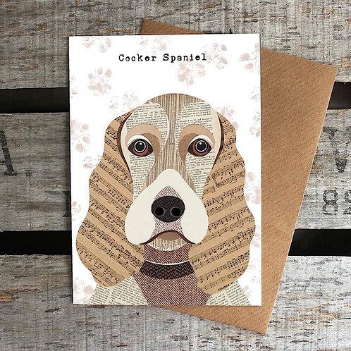PAW18 - Cocker Spaniel Card