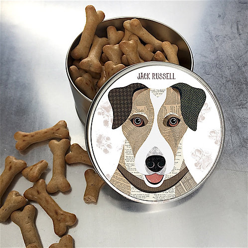 Jack Russell Dog Tin