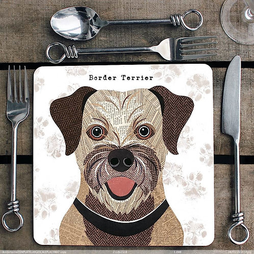 Border Terrier Placemat/Coaster