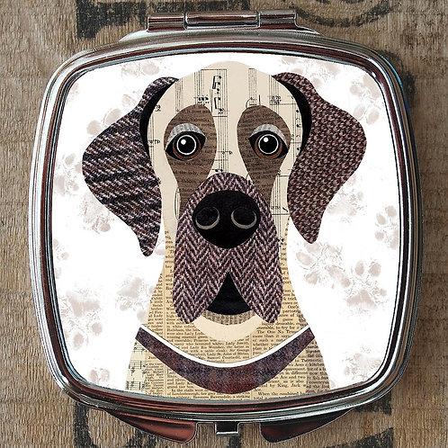 Great Dane (Version 2) Dog Compact Mirror
