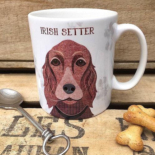 irish Setter dog mug