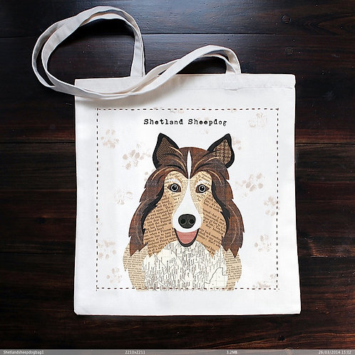 Shetland Sheepdog Dog Bag
