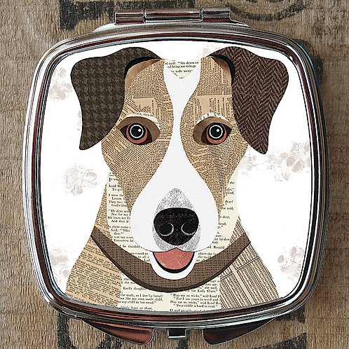 Jack Russell Compact Mirror