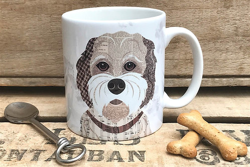 Cockapoo Dog Mug ( Buff version)