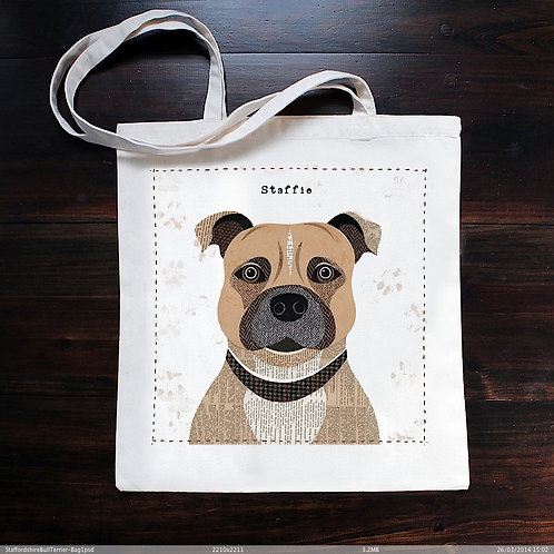 Staffie Dog Bag