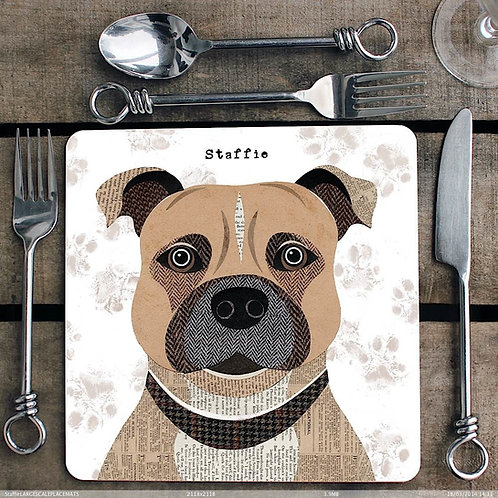 Staffordshire Bull Terrier Placemat