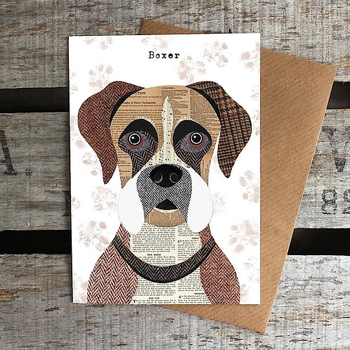 PAW16 - Boxer Dog Card