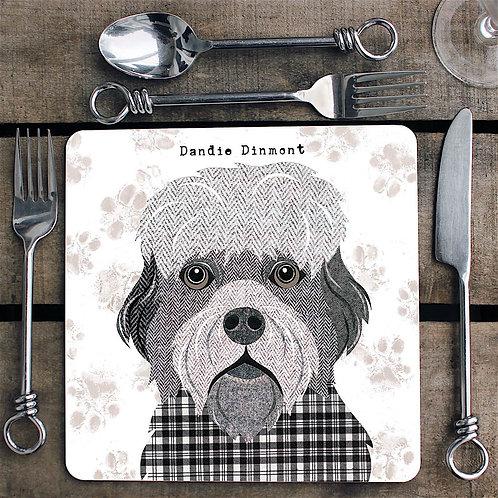 Dandie Dinmont dog  Placemat/Coaster