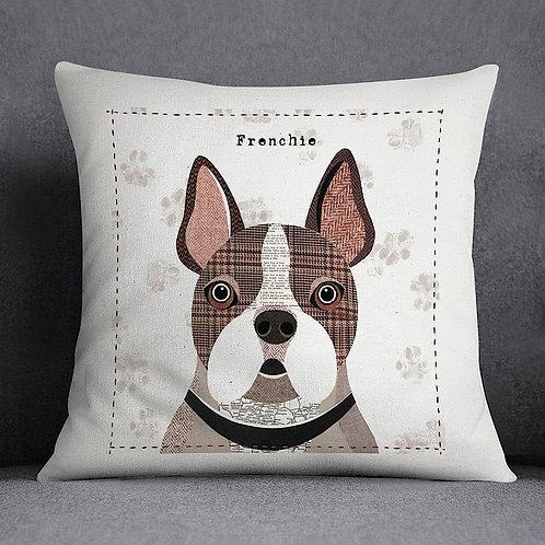 Frenchie Dog Cushion