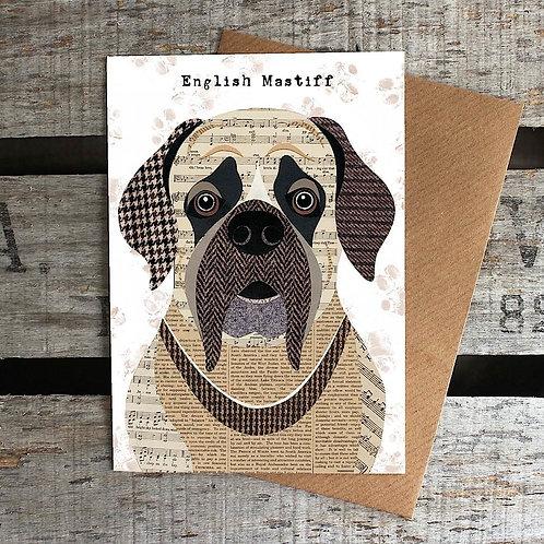 PAW42 English Mastiff Card