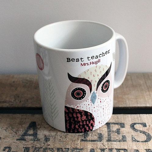 Owl Personalised Mug