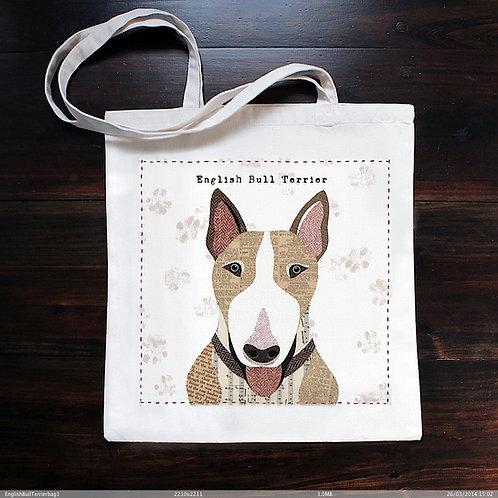 English Bull terrier Dog Bag