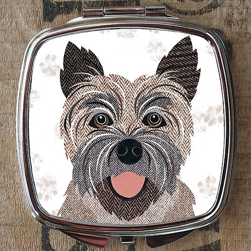 Cairn Terrier Dog Compact Mirror