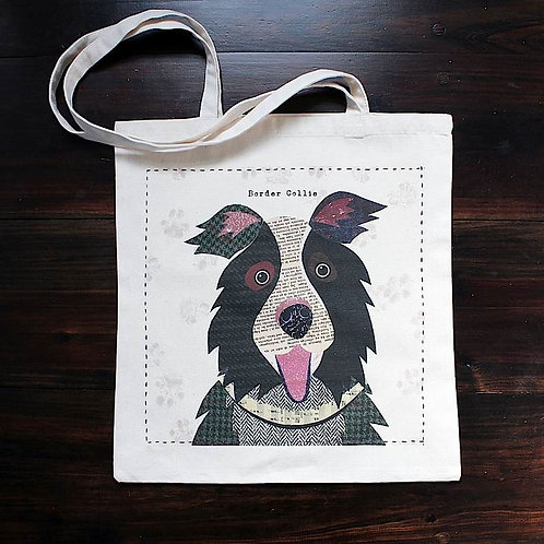 Border Collie Dog Bag
