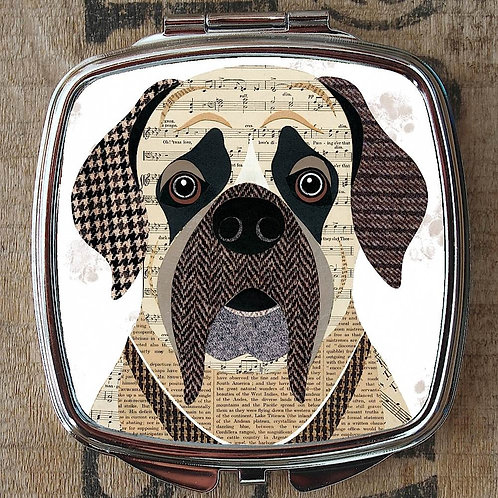 English Mastiff Dog Compact Mirror