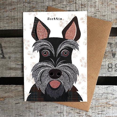 PAW32 - Scottie Dog Card