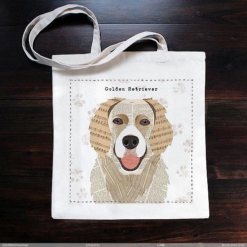 Golden Retriever Dog Bag