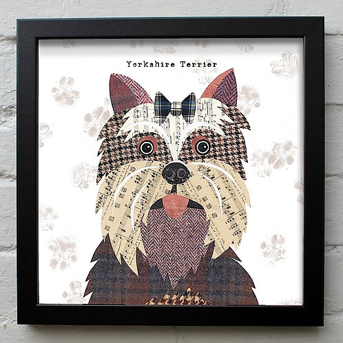 Yorkshire Terrier Dog Art Print