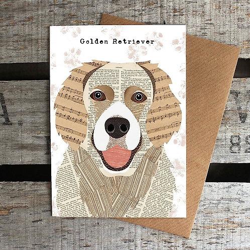 PAW25 - Golden Retriever Card