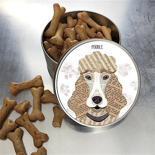Poodle Dog Tin