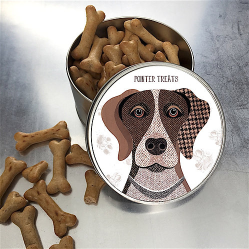 Pointer Dog Tin