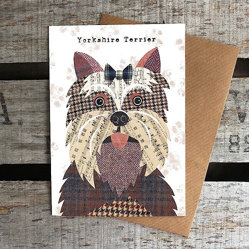 PAW05 - Yorkshire Terrier Card