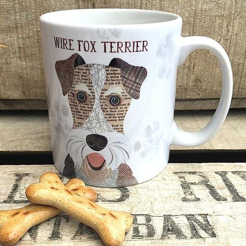 Wire Fox Terrier dog mug