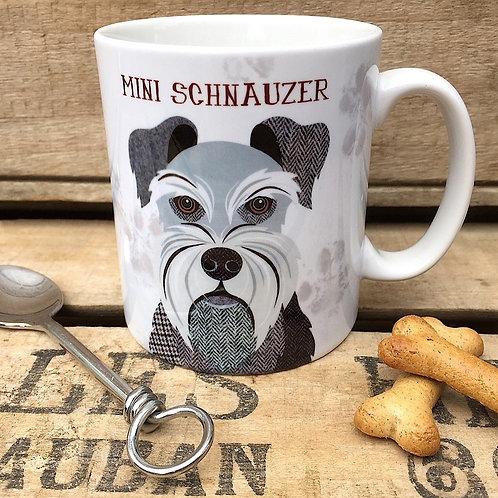 Mini Schnauzer dog mug