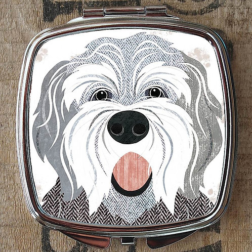 English Sheepdog Compact Mirror