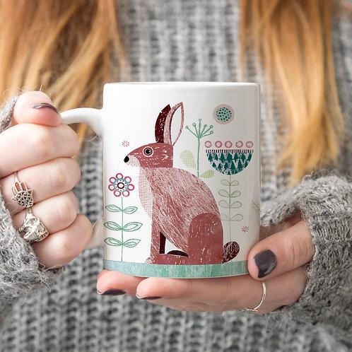 Hare Personalised Mug