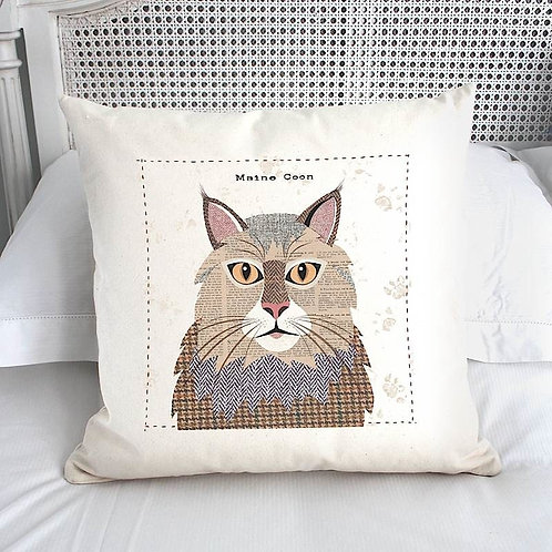 Maine Coon Cat Cushion