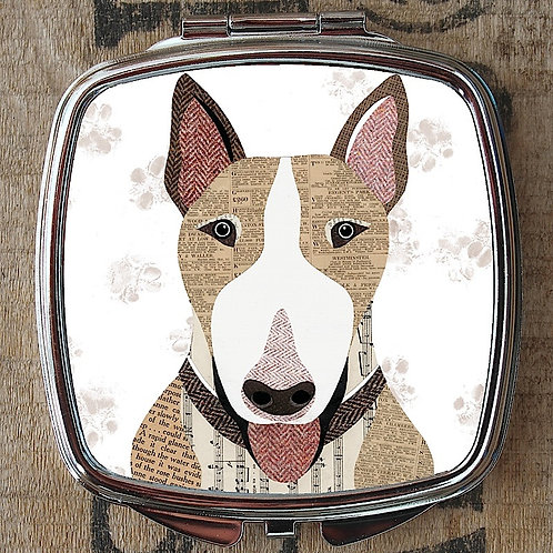English Bull Terrier Compact Mirror