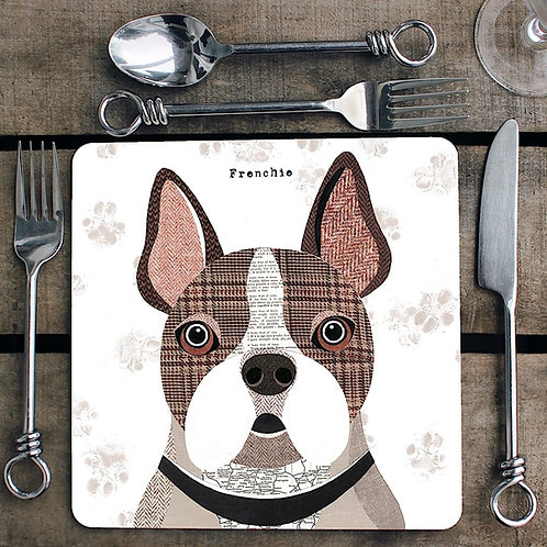 Frenchie Placemat/Coaster