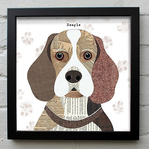 Beagle Dog Art Print