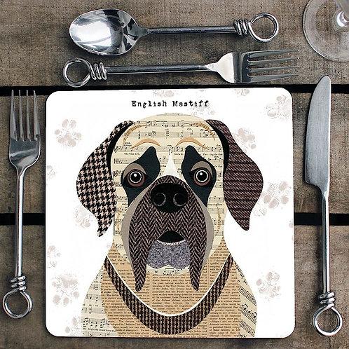 English Mastiff Placemat/Coaster