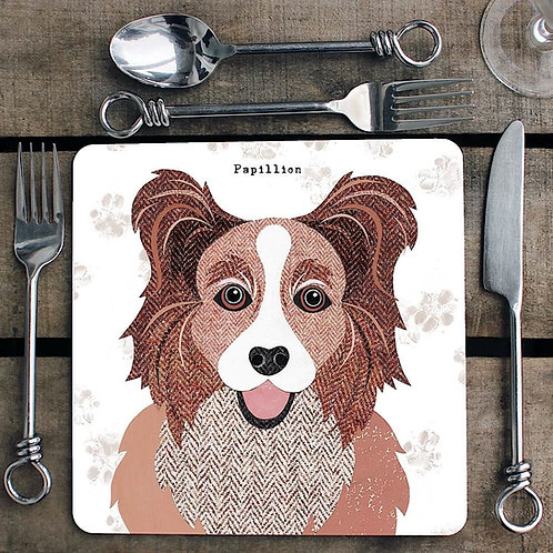Papillion Placemat/Coaster