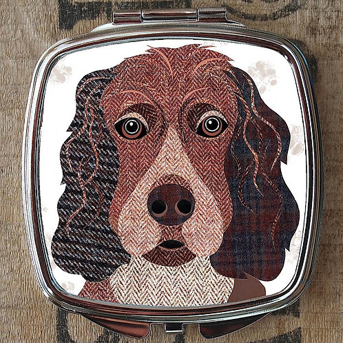 Working Cocker Dog Compact Mirror