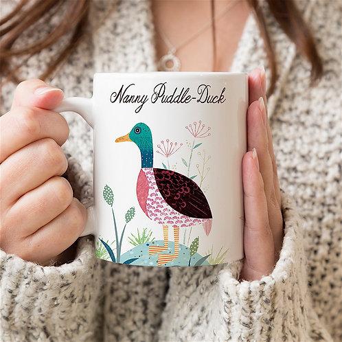 Mallard Duck Personalised Mug