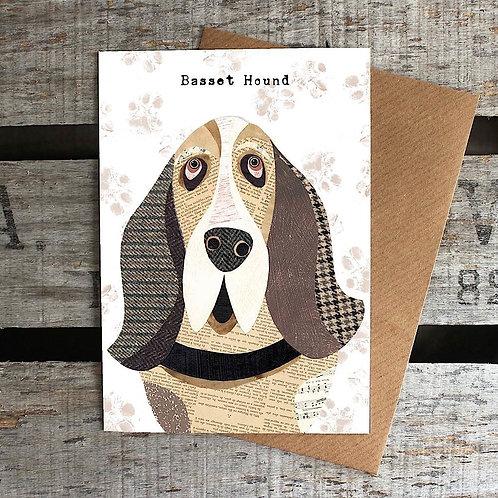 PAW08 - Basset Hound Card