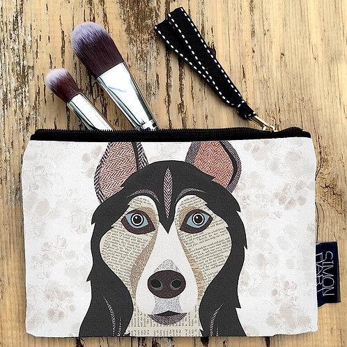 Husky Dog Canvas Purse